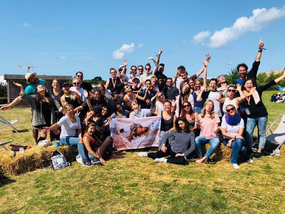 Groupe YoungCaritas in Europe à l'université d'été de Saint-Malo