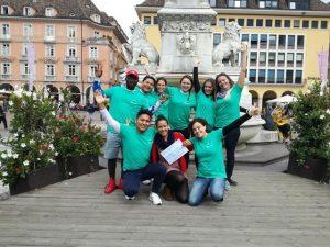 youngCaritas Bolzano group